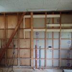 【築35年の家】水回り+LDKリフォーム【その5】壁・天井下地