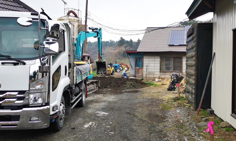 【外構工事】大掛かりな舗装工事もやっています!【施工事例】