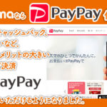 PayPay使えます!